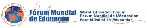 Forum Mundial de Educao